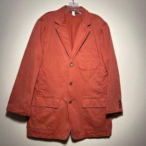 J. Crew Men's 100% Cotton Sport Coat Blazer Jacket